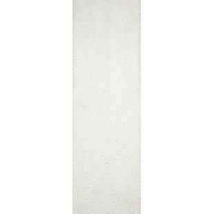 Inexpensive Montanez Handmade Shag White Area Rug By Mercer41
