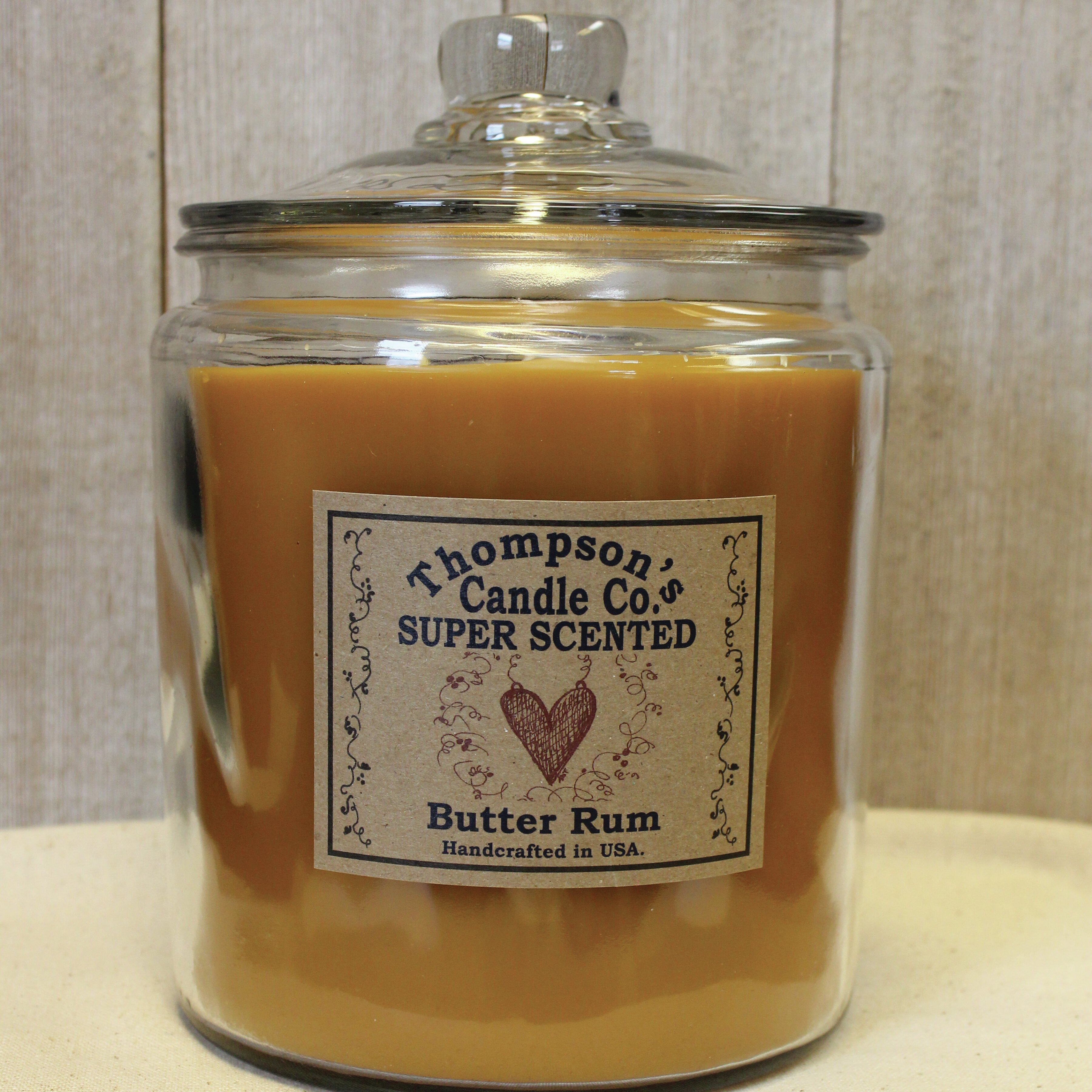 Thompson Scandleco Butter Rum Heritage Scented Jar Candle Wayfair