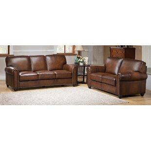 Elmirasol 2 Piece Leather Living Room Set ByLoon Peak