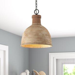 Sherise 1-Light Dome Pendant