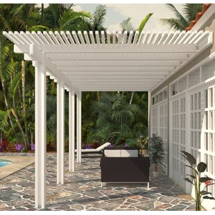 14 Ft. D Aluminum Pergola by Heritage Patios