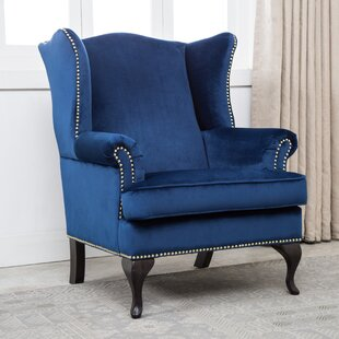 Shamar Wingback Chair by Rosdorf Park New