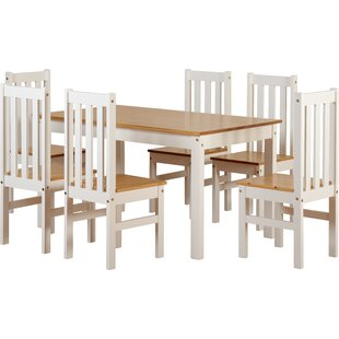 Bradmoor Dining Set With 6 Chairs By August Grove