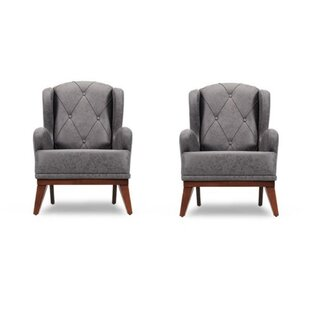 Theroux 33 Armchair Set of 2 by Corrigan Studio
