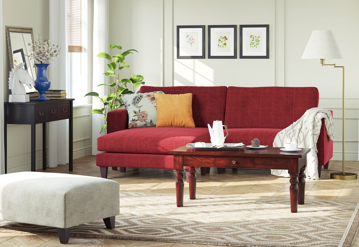 Wayfair Custom Upholstery Maya Reversible Corner Sofa Reviews