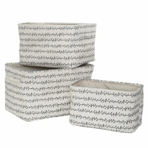 3-tlg. Korb-Set Twigga aus Stoff von Premier Housewares