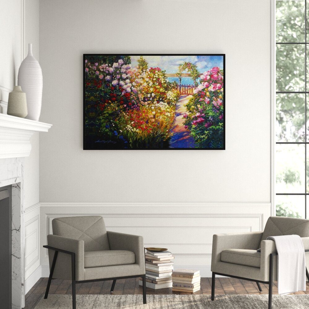 Jbass Grand Gallery Collection Natural Beauty Ii Framed Graphic Art Print On Wrapped Canvas Perigold