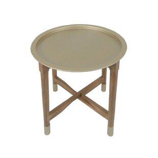 Wrought Studio Reisman Tray Top End Table