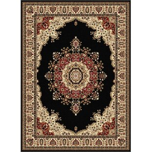 Clarence Beige/Black Area Rug By Astoria Grand