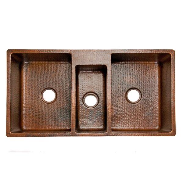 42 kitchen sink apron front premier copper products 42