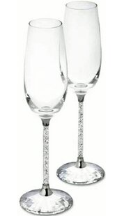 8 oz. Glass Flute (Set of 2)