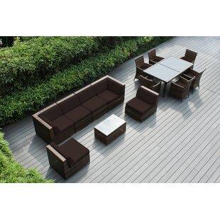 Ohana 14 Piece Complete Patio Set with Cushions