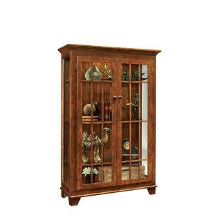 Darby Home Co Shelia Lighted Curio Cabinet