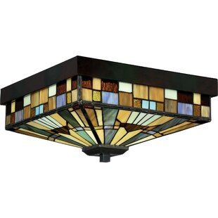 Loon Peak Bush 3-Light Flush Mount