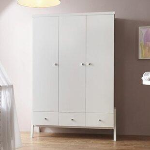 Holly White 3 Door Wardrobe By Schardt