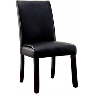 Upholstered Parsons Chair Set of 2