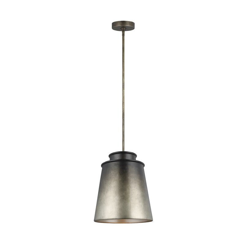 Williston Forge Newhouse 1 Light Single Bell Pendant Wayfair
