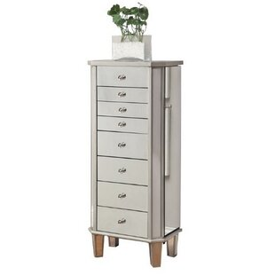 Farallones Free Standing Jewelry Armoire By Rosdorf Park