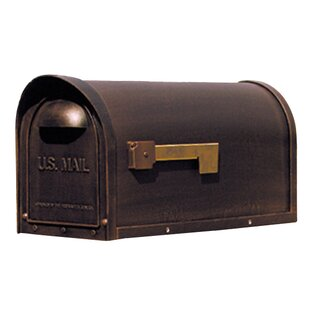 Wall Mounted Mailbox With Flag Home design ideas