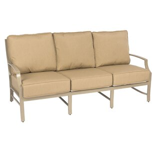 Seal Cove Patio Sofa with Cushions by Woodard