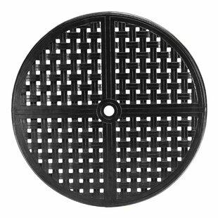 Double Lattice Round Cast Aluminum Table Top