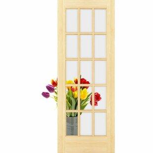 Lite Slab Manufactured Wood French Door