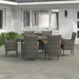 Solway 6 Seater Dining Set With Upholstery By Sol 72 Outdoor