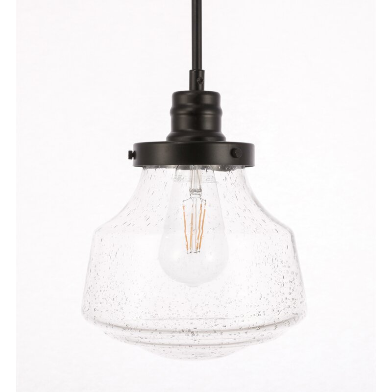 New Hartford 1 - Light Single Schoolhouse Pendant