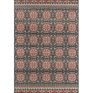Blackmon Charcoal Indoor/Outdoor Area Rug
