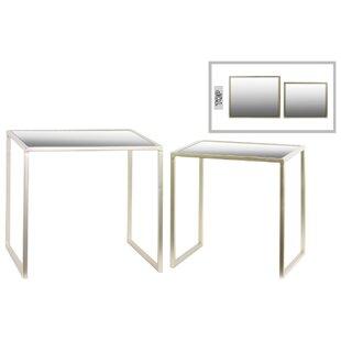 Urban Trends Metal 2 Piece Nesting Tables
