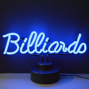 Business Signs Billiards Neon Sign By Neonetics