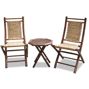 Escondido Outdoor Conversation 3 Piece 2 Person Seating Group by Bay Isle Home