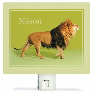 Oopsy Daisy Lion on Green Night Light
