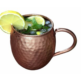 24 Oz. Barrel Moscow Mule Mug (Set Of 24) by Melange Modern