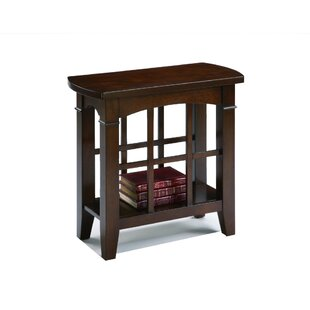Kroeger End Table with Storage by Alcott Hill