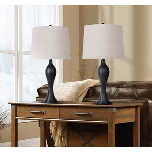 Winston Porter Tosha 2 Piece Table and Floor Lamp Set (Set of 2)