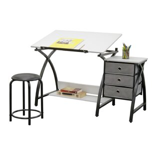 Center Comet Drafting Table by Studio Designs Design