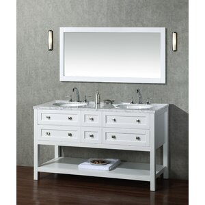 Whaley 60″ Double Bathroom Vanity Set