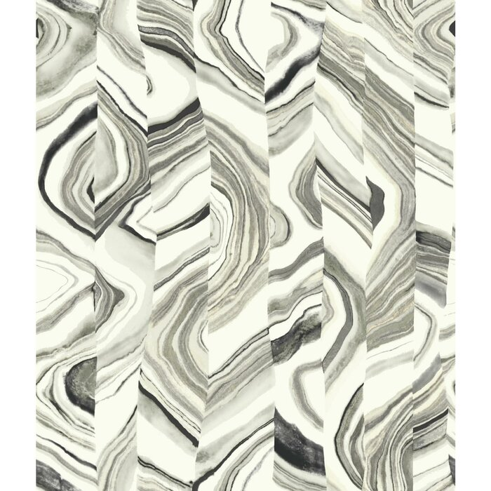 Agate Stripe 33 X 20 5 Abstract Wallpaper Roll