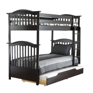 Orbelle Trading Curved Twin over Twin Bunk Bed