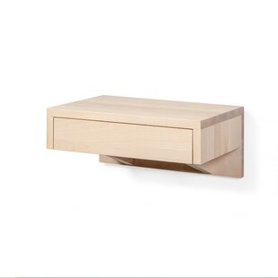 Latoya 1 Drawer Bedside Table By Ebern Designs