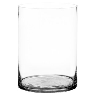 Skipper Glass Cylinder Vase