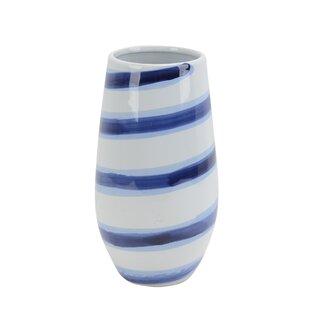 Conleth Ceramic Striped Table Vase