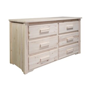 Mistana Katlyn 6 Drawer Double Dresser