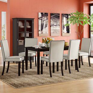Coraima 7 Piece Dining Set by Latitude Run