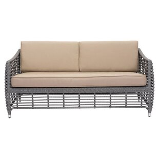 Ashton Beach Patio Sofa with Cushions by Brayden Studio