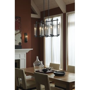 Trent Austin Design Yucca Valley 12-Light Shaded Chandelier