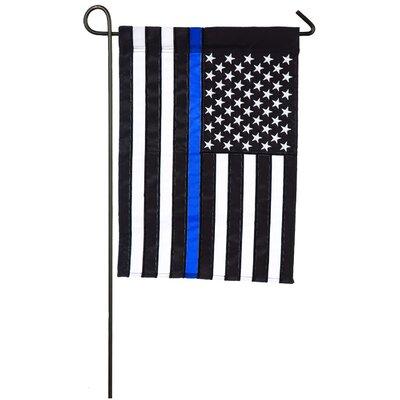 Evergreen Flag & Garden Thin Line 2-Sided Polyester 1'6 x 1 ft. Garden Flag