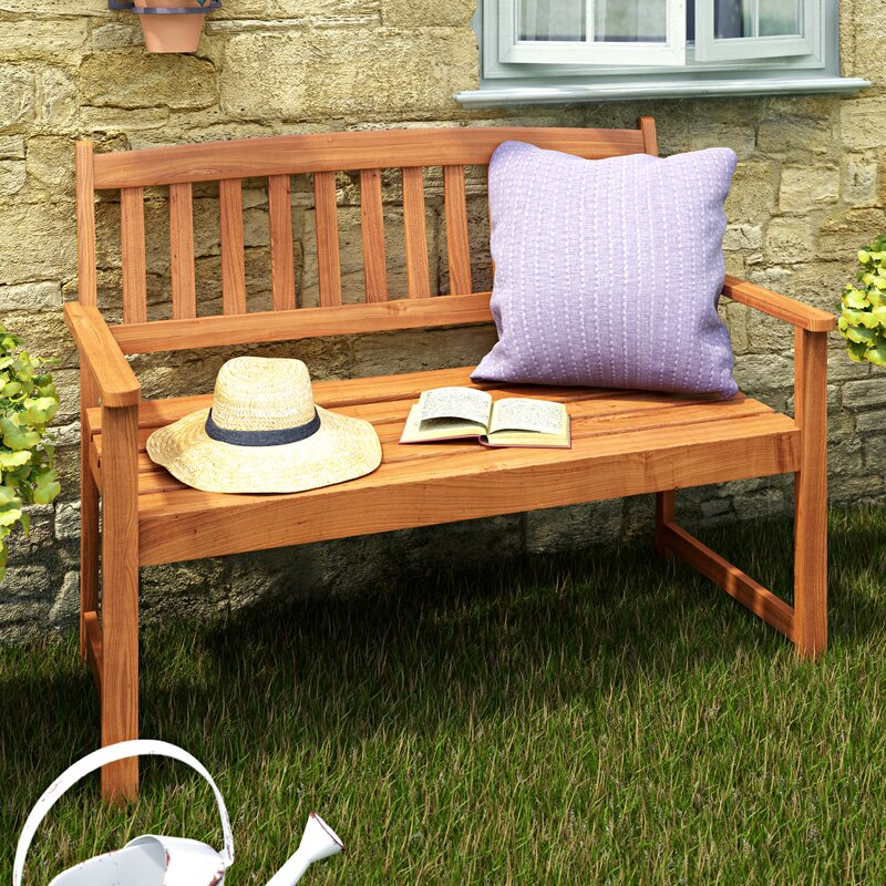 garten living 2 sitzer gartenbank promotion aus holz bewertungen. Black Bedroom Furniture Sets. Home Design Ideas