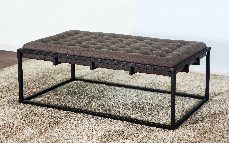 Gracie Oaks Tannehill Upholstered Coffee Table Wayfair